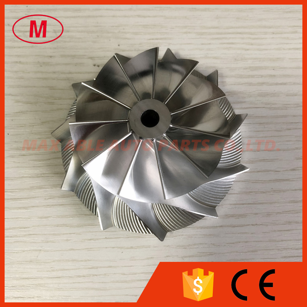 T88 34D 11 0 blades 69 67 95 00mm high performance turbo Billet milling aluminum 2628