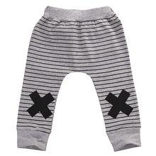 Новинка, От 0 до 2 лет, милые полосатые штаны с монстрами для маленьких мальчиков и девочек, леггинсы, штаны-шаровары, детские брюки
