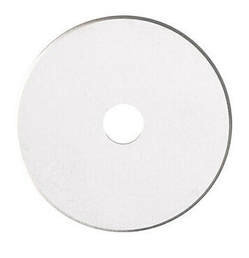 100pcs Lot 45MM ROTARY CUTTER BLADES ROUND HOLE