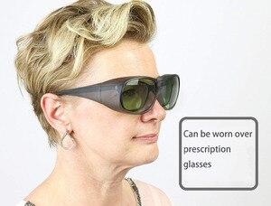 Image 2 - نظارات واقية للعين بالليزر متعددة الطول ونظارات حماية بالليزر 755 & 808 & 1064nm ND: YAG