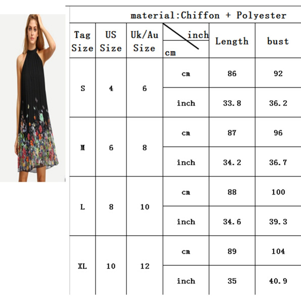 Woman Dress Summer Black Round Neck Sleeveless Vestidos Womens Casual  Clothing Floral Print Cut Away Shift Dresses Plus Size New-in Dresses from  Women s ... a3703013b3bd