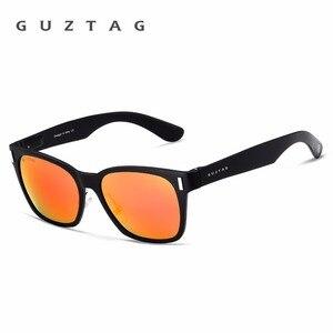 Image 5 - GUZTAG SUNGLASSES Aluminum Square Men/Women  Polarized Mirror UV400 Sun Glasses Eyewear Sunglasses For Men oculos de sol G9260