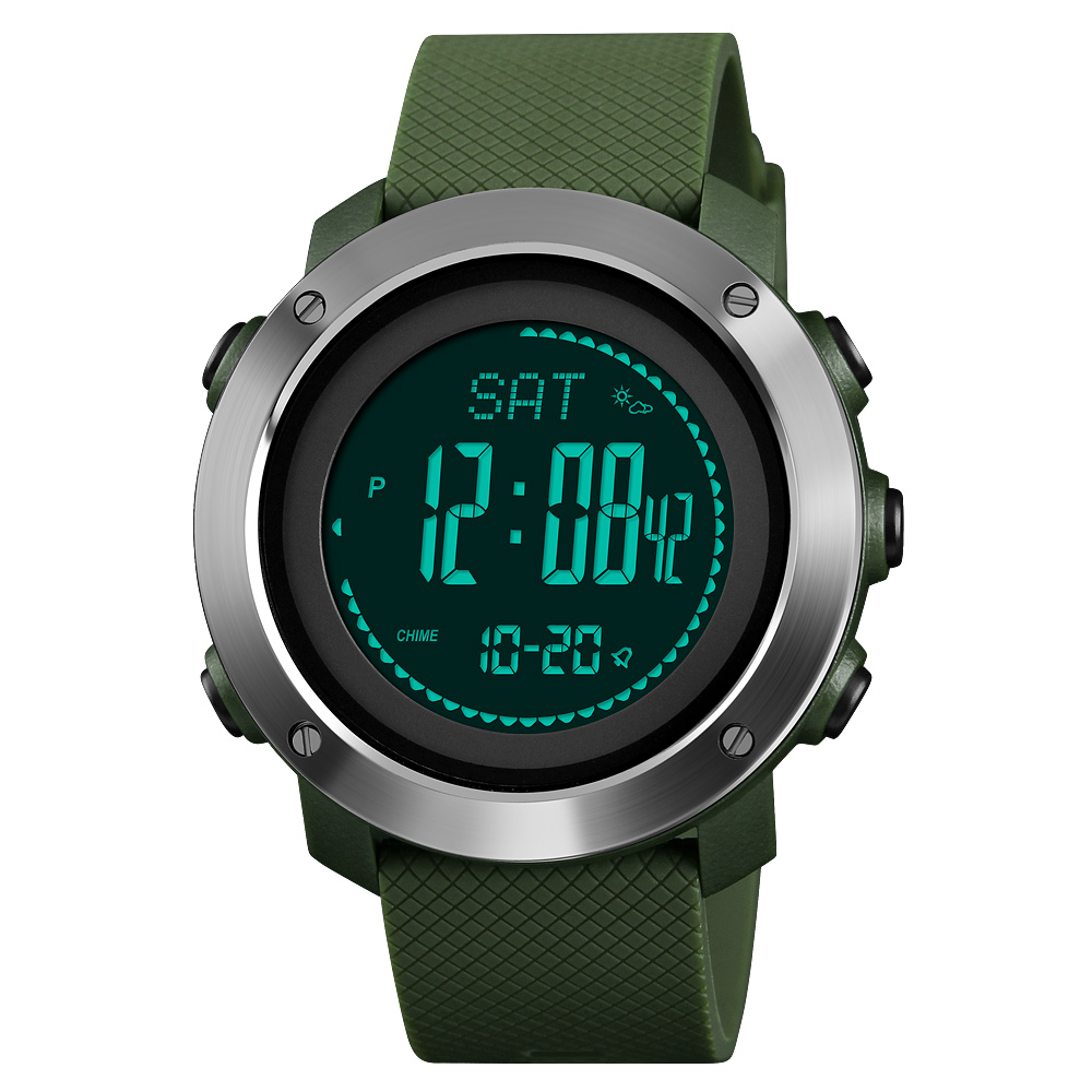 Luxury Brand Mens Sports Calories Watches Skmei Thermometer Weather Forecast Digital Watch LED Pedometer Compass Mileage ClockLuxury Brand Mens Sports Calories Watches Skmei Thermometer Weather Forecast Digital Watch LED Pedometer Compass Mileage Clock