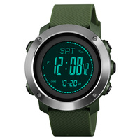 Luxury Brand Men's Sports Calories Watches Skmei Thermometer Weather Forecast Digital Watch LED Pedometer Compass Mileage Clock
