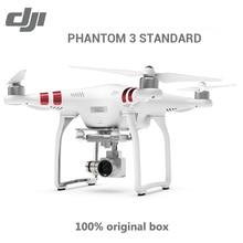 100% Original DJI Phantom 3 Standard With 2.7K HD Camera FPV Drone Quadcopter Rc helicopter GPS Gimbal VS Phantom 3 Professional