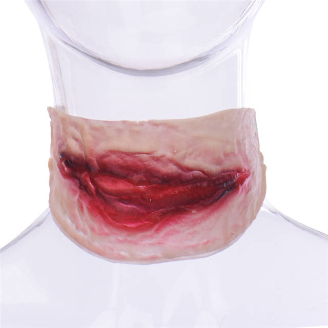 Online Shop 1pcs Creepy Bloody Wound Scars Makeup Cosplay Halloween