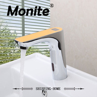 Automatic Sense Faucet For Kitchen Bathroom Basin Water Saving Electric Sensor Water Tap