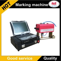Горячая продажа CNC портативный маркировочный Dot Peen гравировальный станок 14040 110 V 220 V