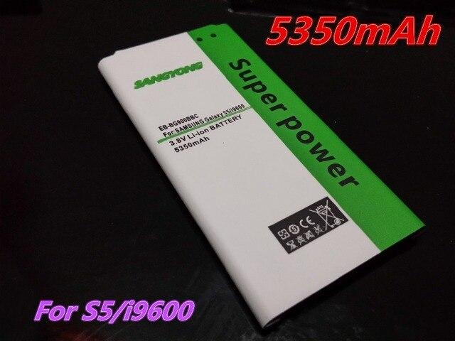 new 5350mAh High Capacity S5 Battery Phone for Samsung Galaxy S5 i9600 SM-G900 g910L/910S/910K/G9006V/G9008V/G9009D/G900 battery