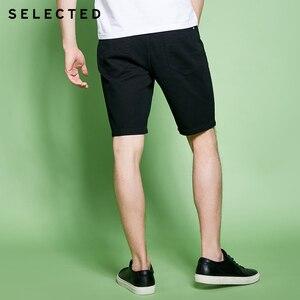 Image 2 - נבחר גברים של אביב 10% כותנה שחור שטף גימור ג ינס מכנסיים C