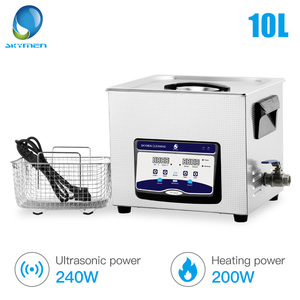 Image 5 - SKYMEN Ultrasonic Cleaner Stainless Steel Ultrasound Sonic Cleaner Bath Metal Parts Washing machine 1.3L 2L 3.2L 6.5L 10L 30L