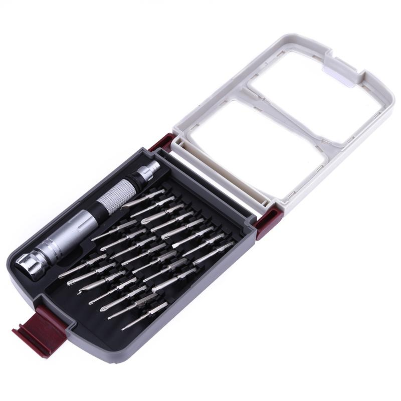 22 in 1 Mobile Phone Repair Tools Kit Opening Tool Screwdriver Set for iPhone for iPad for Samsung Cell Phone Hand Tool Set new professional 38 in 1 mobile phone repair tools kit opening screwdriver for iphone 5s 5 4s 4 sumsang mulitifuntion tool set