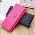Women Bag 2016 Wallet Female Girls PU Leather Handbag Long Clutch Women Wallets Credit Card Holder Money Ladies Coin Purse B742