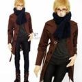 New Pefect Coat+Jeans+Vest+ Scarf Coll Suit/Outfit For 1/3 1/4 Uncle SD LUTS BJD Clothes