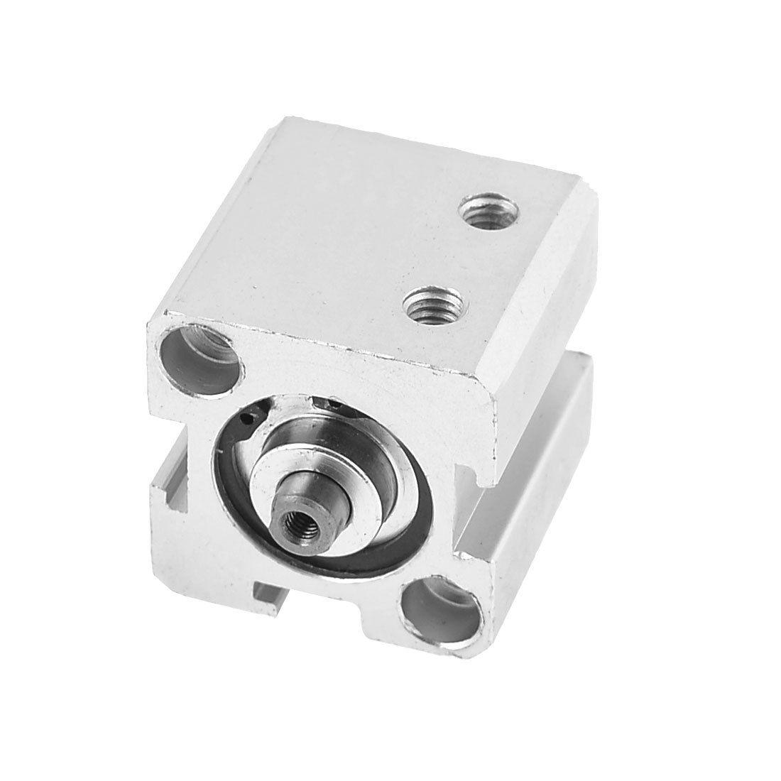 1 Pcs 20mm Bore 10mm Stroke Stainless steel Pneumatic Air Cylinder SDA20-101 Pcs 20mm Bore 10mm Stroke Stainless steel Pneumatic Air Cylinder SDA20-10