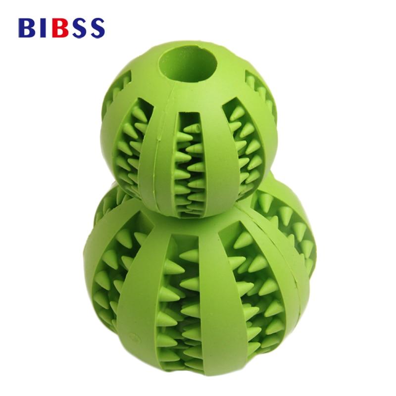 7CM 5CM мека гума дъвчащи играчки топка за малки средни големи кучета играчки топки Chien доставки домашни любимци обучение играе топка
