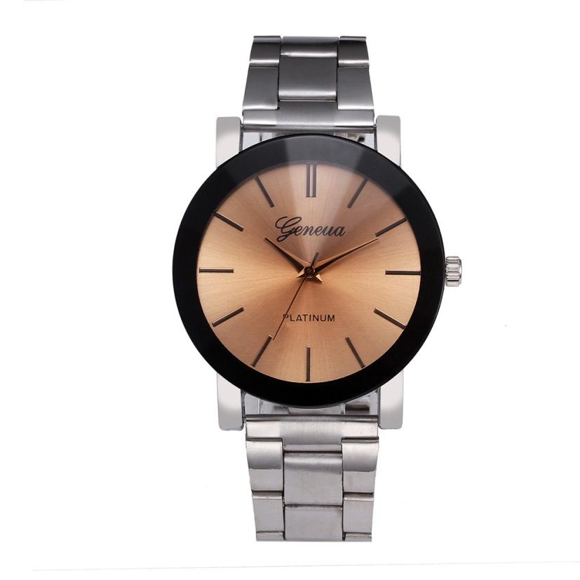 Reloj mujer marcas famosas de lujo 2018 Fashion Women Crystal Stainless Steel Analog Quartz Wrist Watch casual female Bracelet