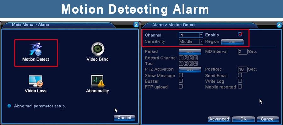 Motion Detecting