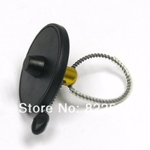 Free shipping eas bottle security tag 8.2mhz rf hard tag for wine Dia 55mm 100pcs/lot