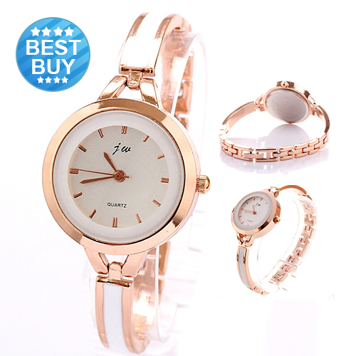 reloj mujer 2016 New Fashion Casual Luxury Brand Bracelet Watch Rose Golden Wome