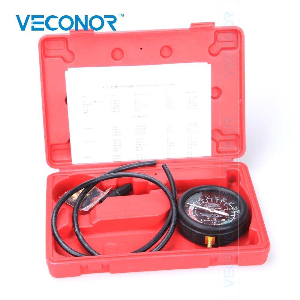 VECONOR TU-1 Vacuum & Fuel Pump <font><b>Pressure</b></font> Tester <font><b>Pressure</b></font> Gauge <font><b>Test</b></font> Tool Kit Carburettor Valve Auto <font><b>Pressure</b></font> Tester