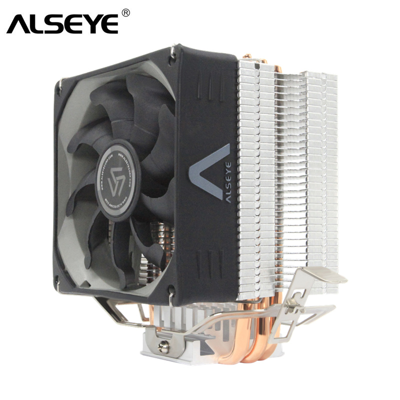 ALSEYE CPU Cooler 3 Heat pipes 4 pin CPU Fan 90mm TDP 215W Cooler for LGA775 1150 1151 1155 1156 1366 AM2 AM3 AM4ALSEYE CPU Cooler 3 Heat pipes 4 pin CPU Fan 90mm TDP 215W Cooler for LGA775 1150 1151 1155 1156 1366 AM2 AM3 AM4