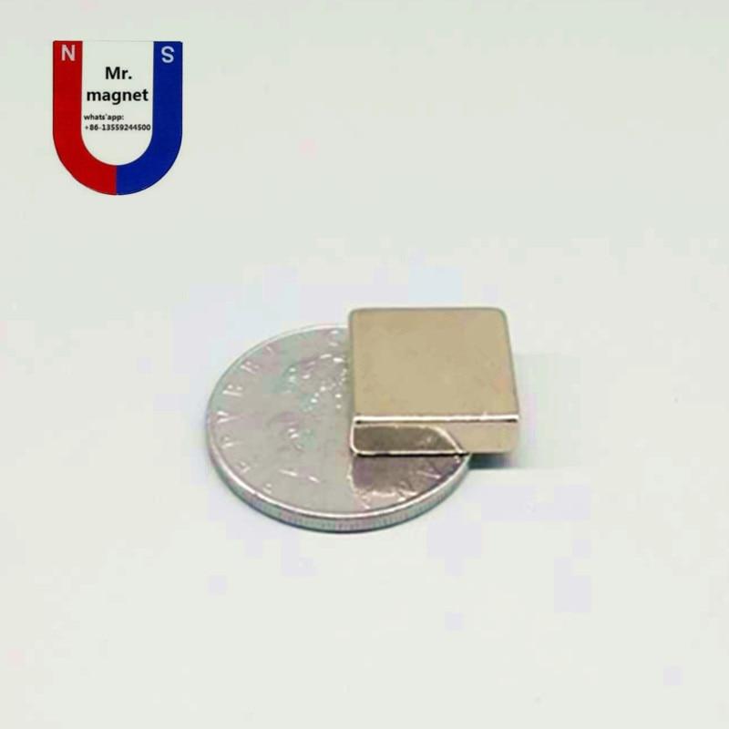 70pcs 15x15x5mm permanant rare earth Neodymium magnet king size 15*15*5 mm supplier free shipping 15x15x5