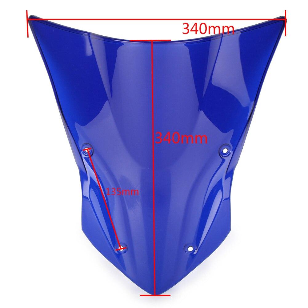 Z900 ветрозащитное ветровое стекло для Kawasaki Z 900 17 18 аксессуары для мотоциклов ABS пластик