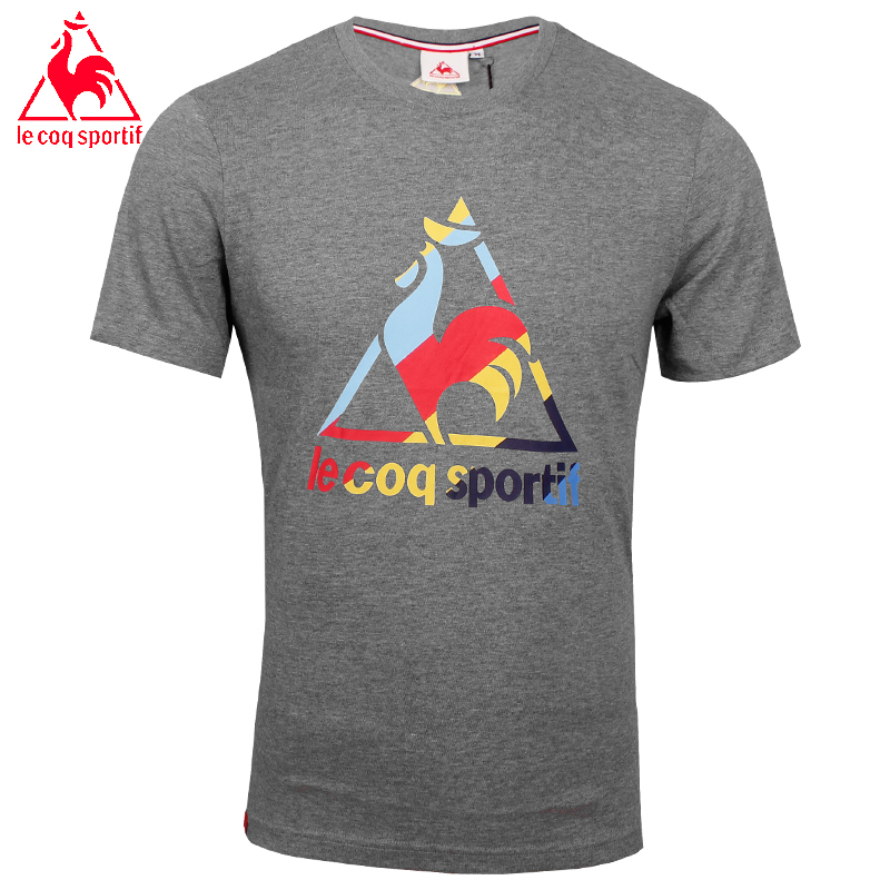2017 Le Coq Sportif Sommer Tops Tees Breathable Männer Oansatz T-shirt Männer...