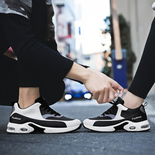 hot sale 2018 spring new couple models air Breathable women running shoes for men air cushion sport shoes basket femme sneaker