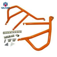 Waase For KTM 1050 1190 ADV Engine Bumper Upper Guard Crash Bars Protector Steel For KTM
