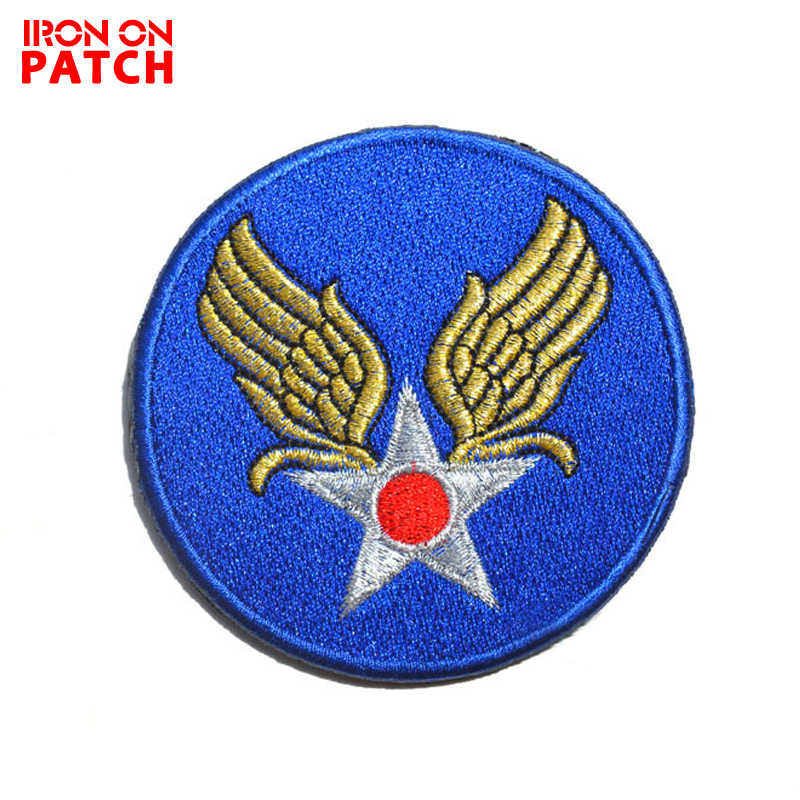 US WWII land Air Force Insignia / armband patch World War II Tactical  military patches Hook badges For Clothes morale patches
