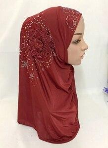 Image 3 - Islamitische Dames Hoofd Sjaal Hoofddeksels Moslim Hijab Innerlijke Cap Wrap Shawl Sjaal Ramadan Arabische Amira Hoofddoek Volledige Cover Tulband Hijab