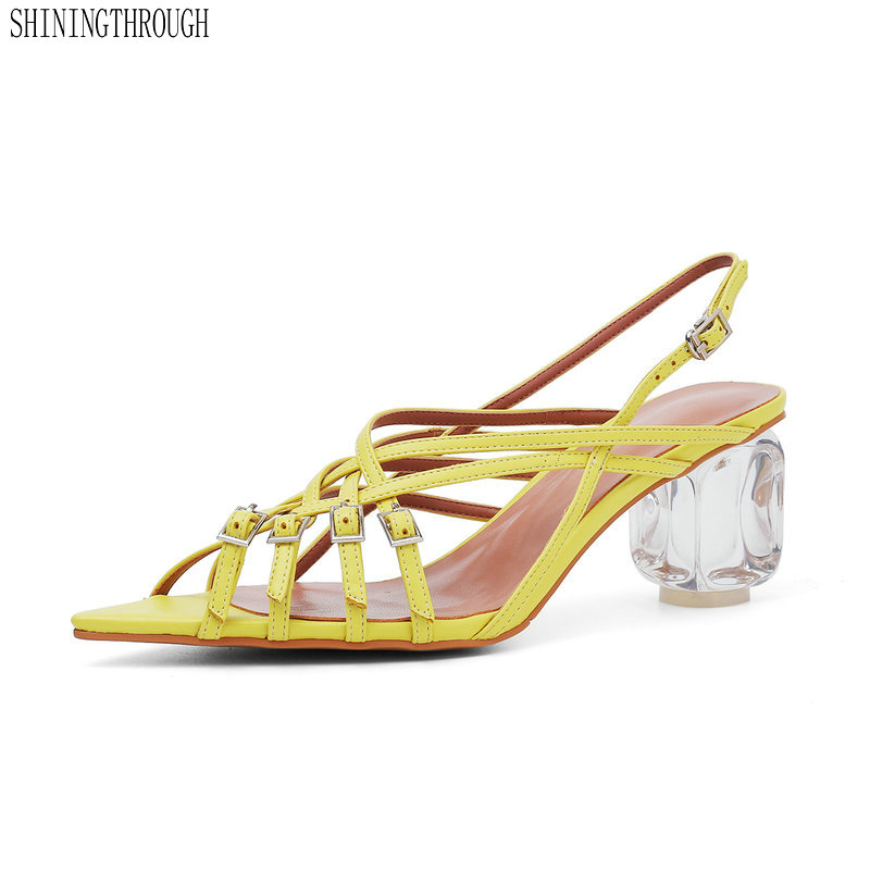 Fashion Women Sandals transparent high Heel Summer Cut-outs Wedding Shoes Woman Sexy Party Solid Ladies PumpsFashion Women Sandals transparent high Heel Summer Cut-outs Wedding Shoes Woman Sexy Party Solid Ladies Pumps