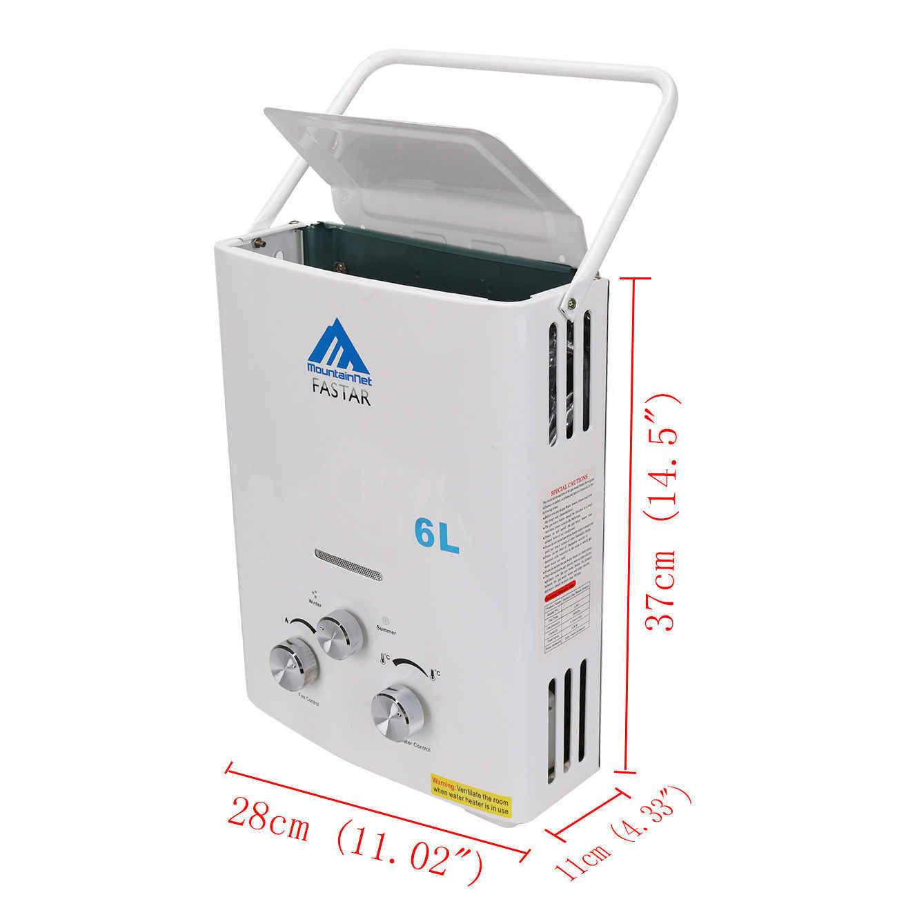 2019 Лидер продаж переносной водонагреватель CAMPER нагреватель воды для кемпинга котел сжиженного газа 12KW 6L + мгновенный Душ самостоятельно построить