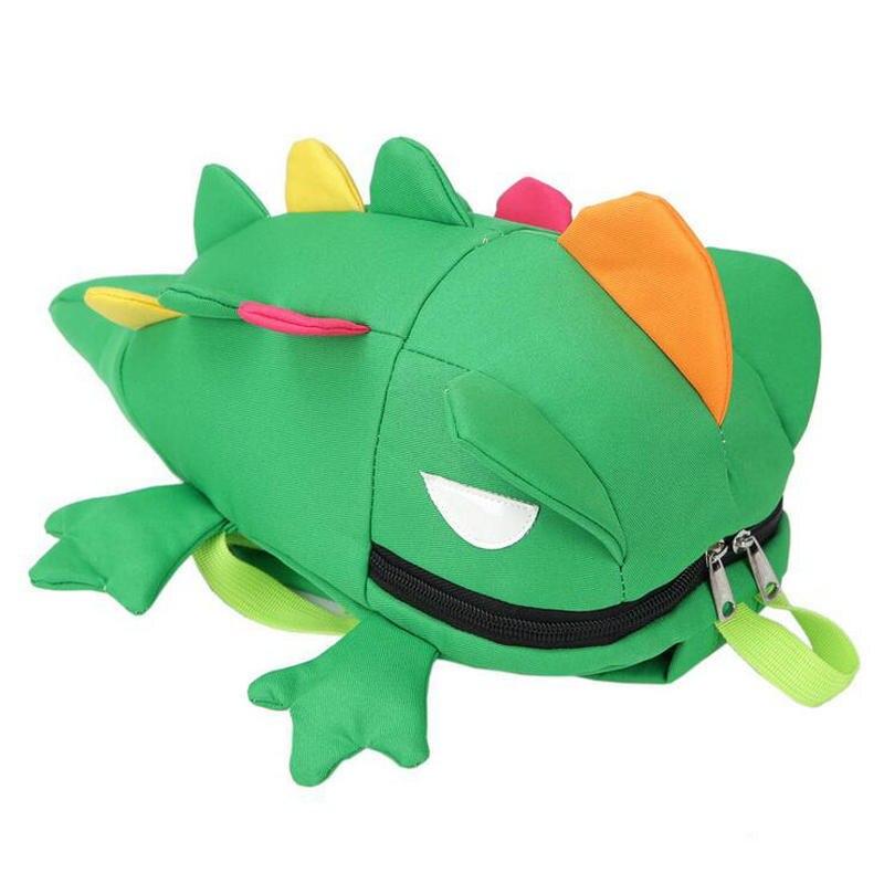Новый цвет рюкзак Детская школьная сумка ящерица детская стильная футболка с изображением персонажей видеоигр рюкзак детский сад мешок ...
