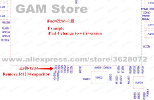 Image 2 - For Pad iCloud Unlock Serial Number Wifi Address PAD 2/3/4/5/6/Air1/Air2/mini1/mini2/mini3/Pro A6 A7 A8 A9 A10 Serial NO. SN
