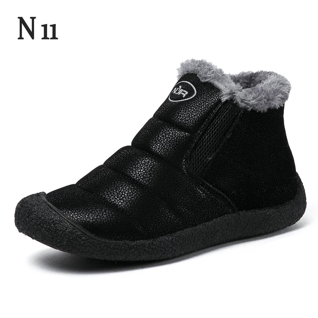 N11 New Fashion Couple Unisex Boot Fashion Women's Winter Snow Boots Keep Warm Boots Plush Ankle Snow Work Shoes Women Boots 2017 cow suede genuine leather female boots all season winter short plush to keep warm ankle boot solid snow boot bota feminina