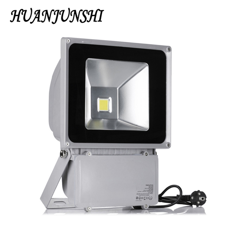 4pcs 100w 9000lm led flood light ac 85 265v projecteur led for Projecteur led exterieur 100w
