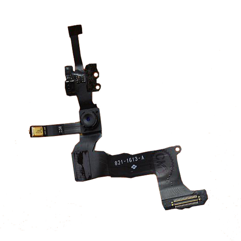 New Original Proximity Light Sensor Flex Cable with Front Face Camera for iPhone 5S Replacement Repair Free Shipping in Mobile Phone Flex Cables from Cellphones Telecommunications
