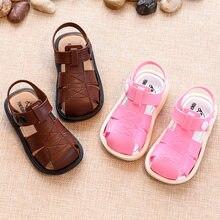 9bc78539f205a Garçon sandales été 2019 nouvelle femme enfant orteil Cap couvrant sandales  enfants chaussures de plage antidérapant bébé filles.