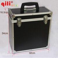 Multifunction Portable Box Car Vinyl Scrape Tool Box Black Color