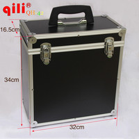 Multifunction Portable Box Car Vinyl Scrape Tool Box Black Color