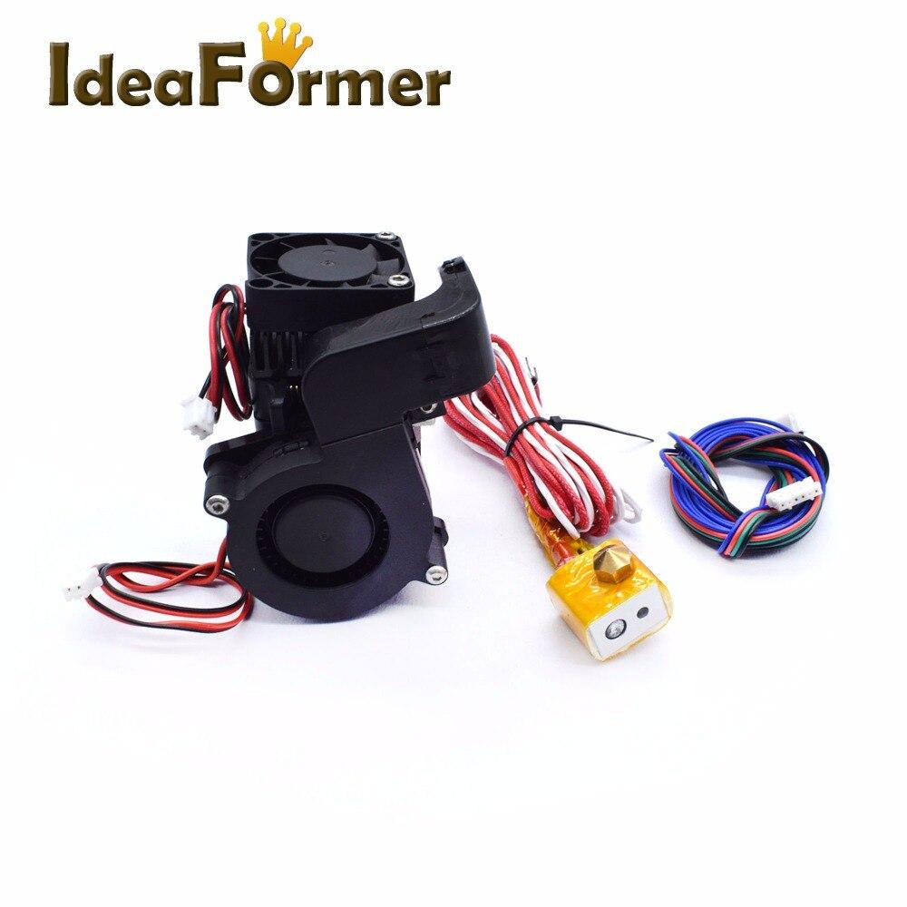 Left Hand MK8 Extruder Print Head w// Stepper Motor for 3D Printer