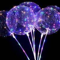 20 дюймов 20 штук воздушные гелиевые светодиодный воздушный шар Globos декоративные шары для дня рождения Свадебная вечеринка воздушные шары БО...