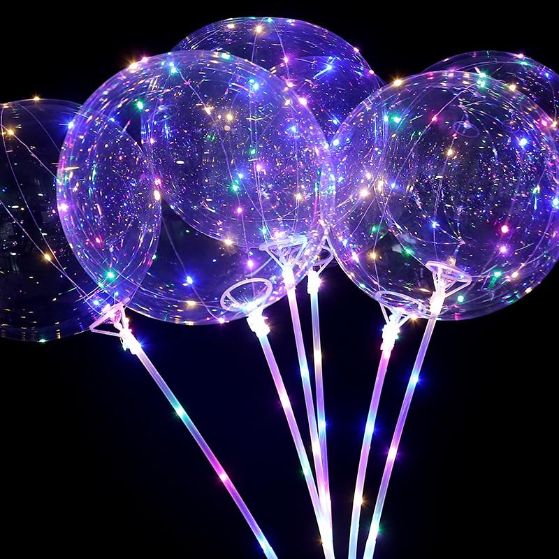 20Inch 20pcs Air Helium Led Balloon globos ballons decoration birthday  wedding party balloons Supplies BOBO balls| | - AliExpress