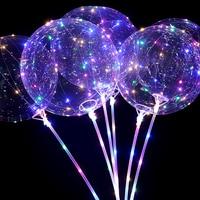 20Inch 20pcs Air Helium Led Balloon globos ballons decoration birthday wedding party balloons Supplies BOBO balls