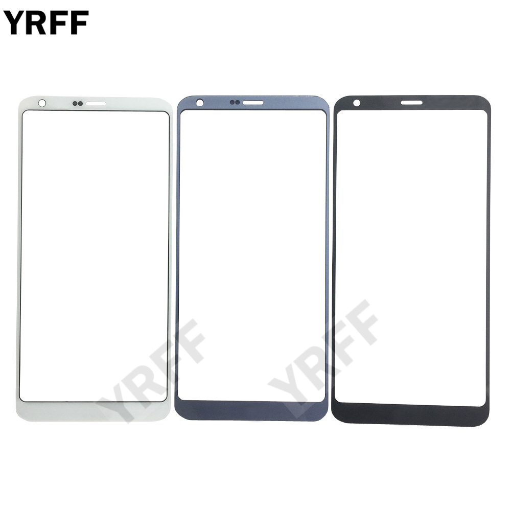 YRFF Mobile Front Panel Glass For LG G6 H870 H870DS H872 LS993 VS998 US997 Front Glass Outer Glass Replacement Cover