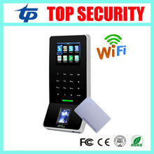 New arrived biometric fingerprint and RFID card access control reader with WIFI TCP/IP F22 zk fingerprint access control system