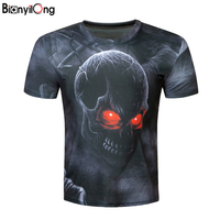 2017 New Galaxy Space 3D T Shirt Funny Tops Tee Originality Short Sleeve Summer Shirts For